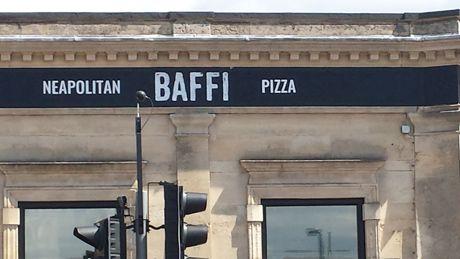 Baffi piza restaurant Portswood Southampton