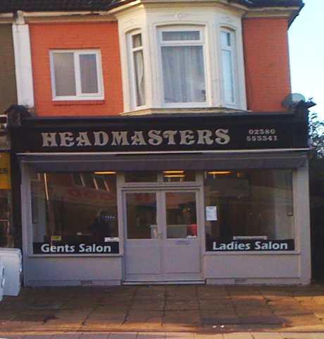 Headmasters barbers, Portswood Southampton
