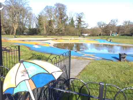Southampton Common paddling pool