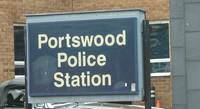 Portswood Police Station sign