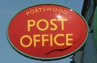 portswood post office sign