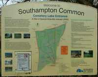 Southampton Common sign