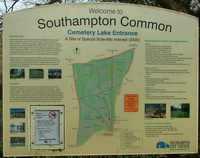 Southampton Common sign