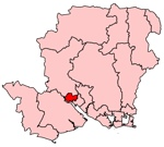 Southampton Test constituency map - Wikimedia