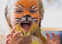 face painted child - Portswood Church image