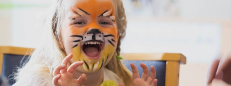 face painted child - Portswood Church image