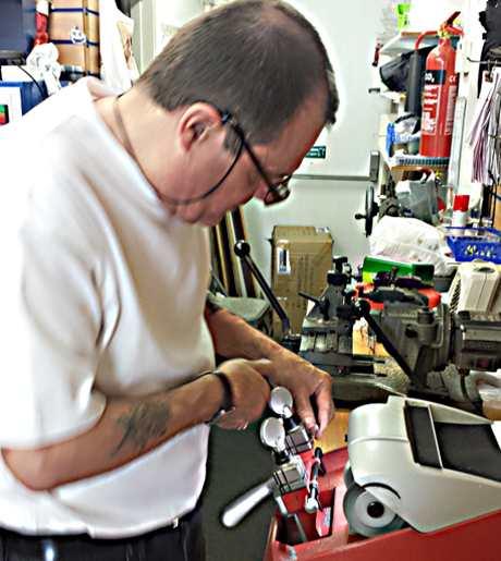 Kevin Fagan, Fagans shoe repair shop Portswood Soutahmpton