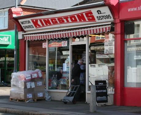Kingstons Motor Spares, Portswood, Southampton